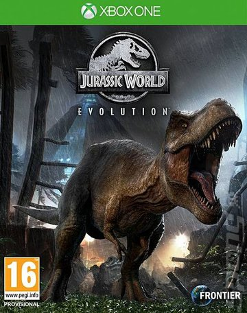 Jurassic World Evolution - Xbox One Cover & Box Art