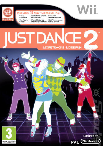 Just Dance 2 - Wii Cover & Box Art