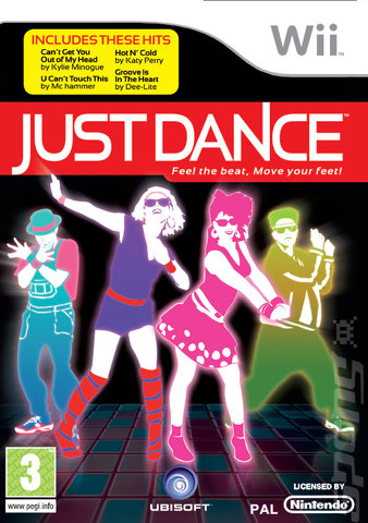 Just Dance - Wii Cover & Box Art