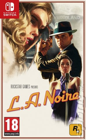 L.A. Noire: The Complete Edition - Switch Cover & Box Art