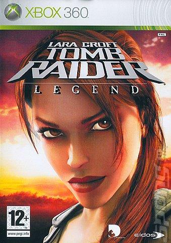 Lara Croft Tomb Raider: Legend - Xbox 360 Cover & Box Art