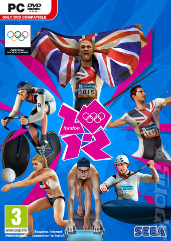 London 2012: The Official Video Game of the Olympic Games - PC Cover & Box Art