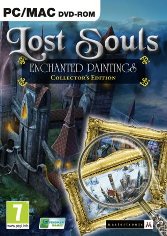 Lost Souls: Enchanted Paintings - Mac Cover & Box Art