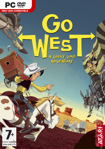 Lucky Luke: Go West! - PC Cover & Box Art
