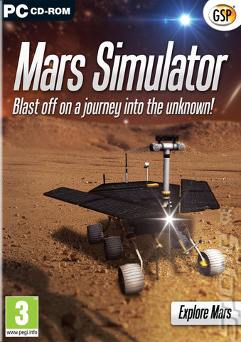 Mars Simulator - PC Cover & Box Art