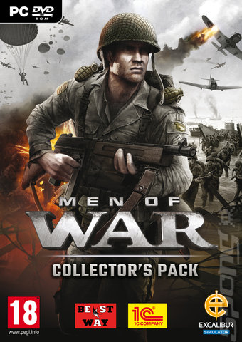 Men of War: Collector's Edition - PC Cover & Box Art