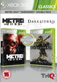 Metro 2033 & Darksiders Classics Double Pack - Xbox 360 Cover & Box Art