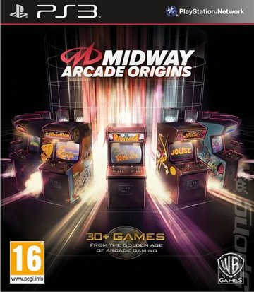 Midway Arcade Origins - PS3 Cover & Box Art