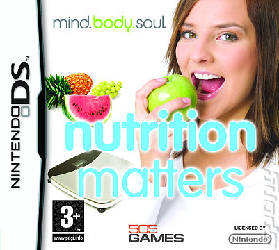 Mind.Body.Soul: Nutrition Matters - DS/DSi Cover & Box Art