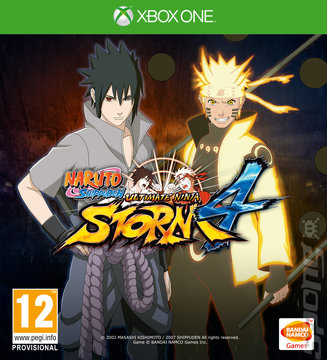 Naruto Shippuden: Ultimate Ninja Storm 4 - Xbox One Cover & Box Art