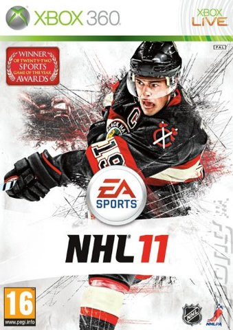 NHL 11 - Xbox 360 Cover & Box Art
