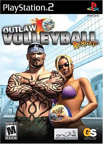 Outlaw Volleyball Remixed - PS2 Cover & Box Art