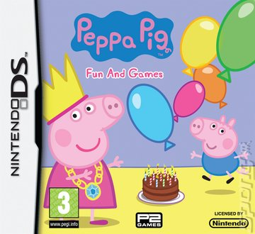 Peppa Pig: Fun and Games - DS/DSi Cover & Box Art