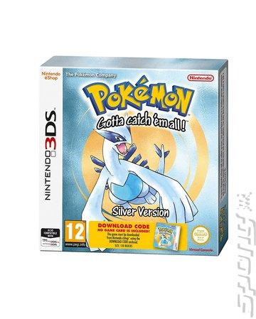 Pokemon Silver - 3DS/2DS Cover & Box Art