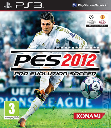 Pro Evolution Soccer 2012 - PS3 Cover & Box Art