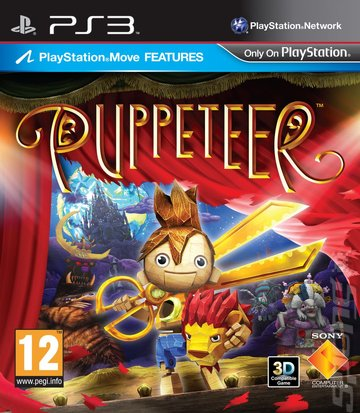 Puppeteer - PS3 Cover & Box Art