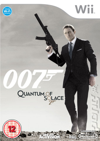 Quantum of Solace - Wii Cover & Box Art