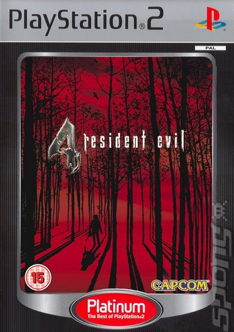 resident evil 4 ps2 cover art