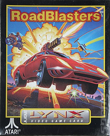Road Blasters - Lynx Cover & Box Art
