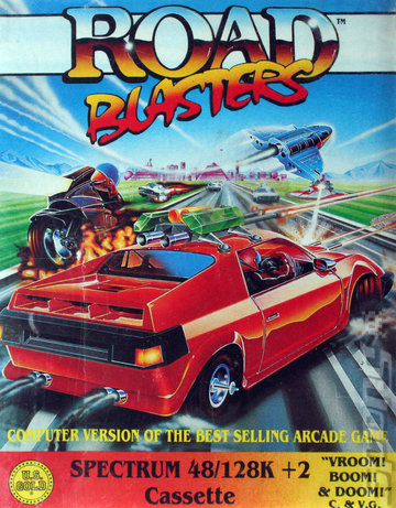 Road Blasters - Spectrum 48K Cover & Box Art