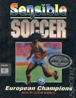 Sensible Soccer - Amiga Cover & Box Art