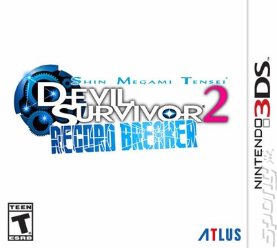 Shin Megami Tensei: Devil Survivor 2: Record Breaker  - 3DS/2DS Cover & Box Art
