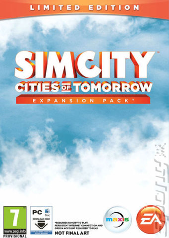 SimCity: Cities Of Tomorrow - PC Cover & Box Art