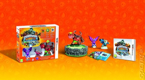 Skylanders: Giants - 3DS/2DS Cover & Box Art