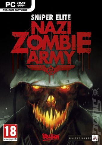 Sniper Elite: Nazi Zombie Army - PC Cover & Box Art