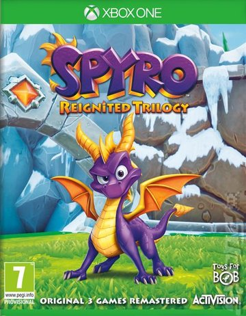 Spyro Reignited Trilogy - Xbox One Cover & Box Art