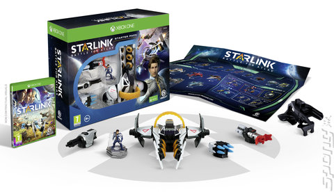 Starlink: Battle for Atlas - Xbox One Cover & Box Art