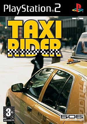 Taxi Rider - PS2 Cover & Box Art