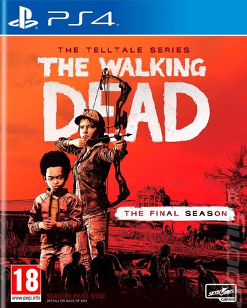The Walking Dead: The Telltale Series: The Final Season - PS4 Cover & Box Art
