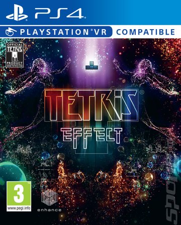 Tetris Effect - PS4 Cover & Box Art