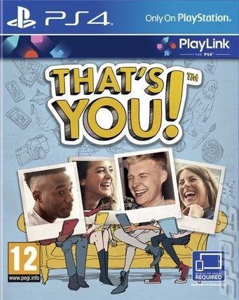 That's You - PS4 Cover & Box Art