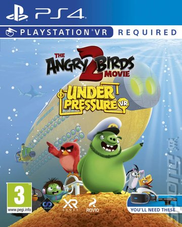 The Angry Birds Movie 2: Under Pressure VR - PS4 Cover & Box Art