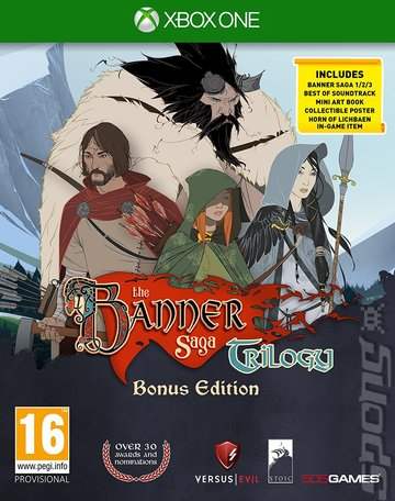 The Banner Saga Trilogy - Xbox One Cover & Box Art