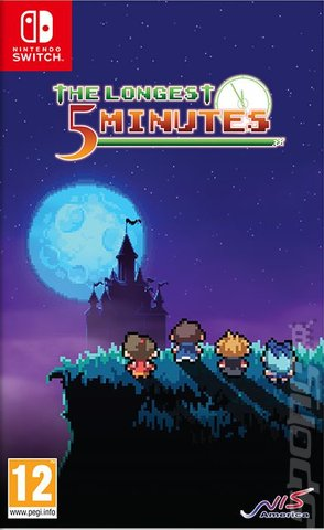The Longest Five Minutes - Switch Cover & Box Art
