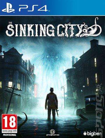 The Sinking City - PS4 Cover & Box Art