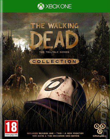 The Walking Dead: The Telltale Series: Collection - Xbox One Cover & Box Art