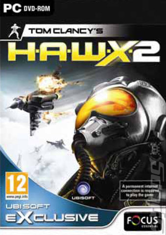 Tom Clancy?s H.A.W.X. 2 - PC Cover & Box Art