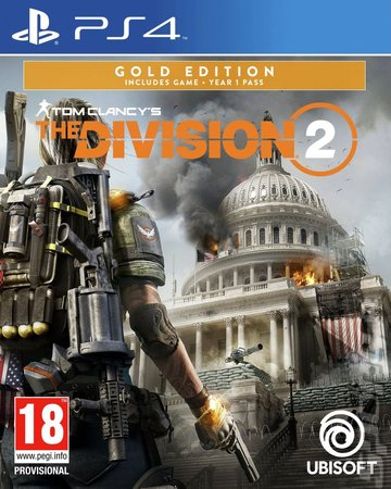 Tom Clancy's The Division 2 - PS4 Cover & Box Art