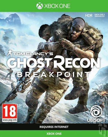 Tom Clancy's Ghost Recon: Breakpoint - Xbox One Cover & Box Art