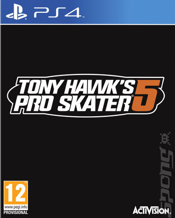 Tony Hawk's Pro Skater 5 - PS4 Cover & Box Art