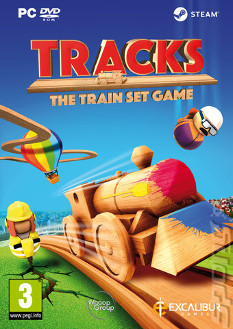 Tracks - PC Cover & Box Art