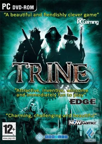Trine - PC Cover & Box Art