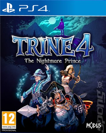 Trine 4: The Nightmare Prince - PS4 Cover & Box Art