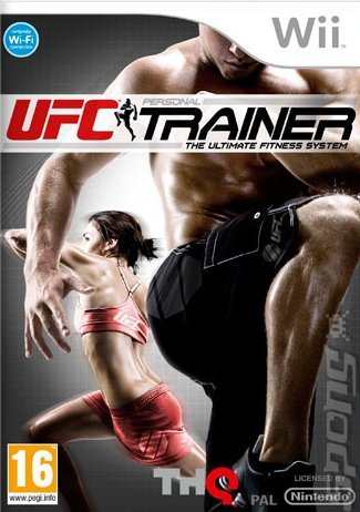UFC Personal Trainer - Wii Cover & Box Art