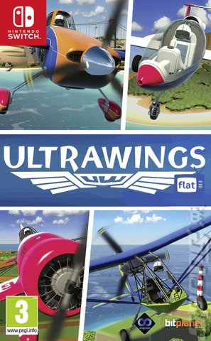 Ultrawings - Switch Cover & Box Art