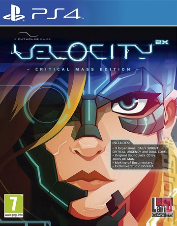 Velocity 2X - PS4 Cover & Box Art